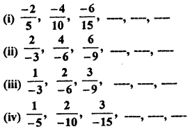 RBSE Solutions for Class 7 Maths Chapter 4 Rational Numbers Ex 4.1 8