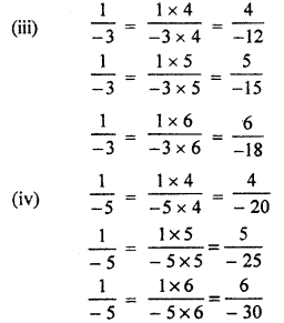 RBSE Solutions for Class 7 Maths Chapter 4 Rational Numbers Ex 4.1 8b