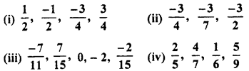 RBSE Solutions for Class 7 Maths Chapter 4 Rational Numbers Ex 4.1 9