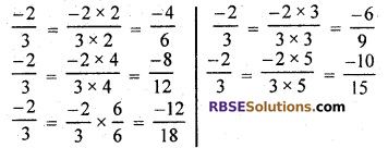 RBSE Solutions for Class 7 Maths Chapter 4 Rational Numbers Ex 4.1 img 2