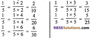 RBSE Solutions for Class 7 Maths Chapter 4 Rational Numbers Ex 4.1 img 3