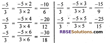 RBSE Solutions for Class 7 Maths Chapter 4 Rational Numbers Ex 4.1 img 4