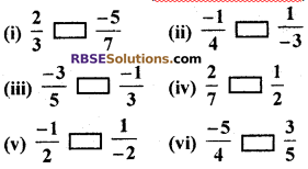 RBSE Solutions for Class 7 Maths Chapter 4 Rational Numbers Ex 4.1 img 44