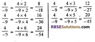 RBSE Solutions for Class 7 Maths Chapter 4 Rational Numbers Ex 4.1 img 5
