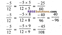 RBSE Solutions for Class 7 Maths Chapter 4 Rational Numbers Ex 4.1 img 6