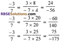 RBSE Solutions for Class 7 Maths Chapter 4 Rational Numbers Ex 4.1 img 7