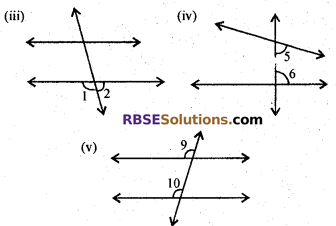 RBSE Solutions for Class 7 Maths Chapter 7 Lines and Angles In Text Exercise - 12