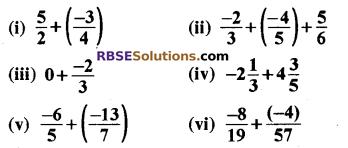 RBSE Solutions for Class 8 Maths Chapter 1 परिमेय संख्याएँ Ex 1.1 image 1