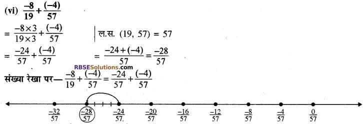 RBSE Solutions for Class 8 Maths Chapter 1 परिमेय संख्याएँ Ex 1.1 image 13