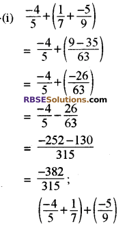 RBSE Solutions for Class 8 Maths Chapter 1 परिमेय संख्याएँ In Text Exercise image 49