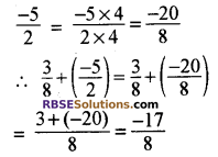 RBSE Solutions for Class 8 Maths Chapter 1 परिमेय संख्याएँ In Text Exercise image 7