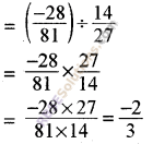 RBSE Solutions for Class 8 Maths Chapter 1 Rational Numbers Additional Questions 10
