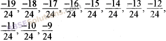 RBSE Solutions for Class 8 Maths Chapter 1 Rational Numbers Additional Questions 7