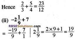 RBSE Solutions for Class 8 Maths Chapter 1 Rational Numbers Ex 1.1 10