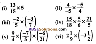 RBSE Solutions for Class 8 Maths Chapter 1 Rational Numbers Ex 1.1 16