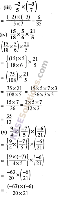RBSE Solutions for Class 8 Maths Chapter 1 Rational Numbers Ex 1.1 18