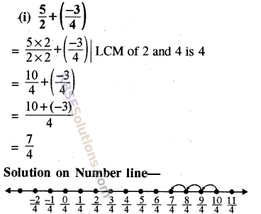 RBSE Solutions for Class 8 Maths Chapter 1 Rational Numbers Ex 1.1 2