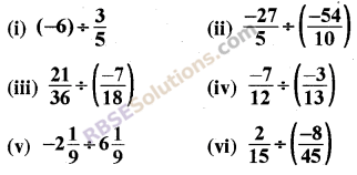 RBSE Solutions for Class 8 Maths Chapter 1 Rational Numbers Ex 1.1 20