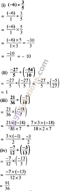 RBSE Solutions for Class 8 Maths Chapter 1 Rational Numbers Ex 1.1 21