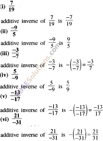 RBSE Solutions for Class 8 Maths Chapter 1 Rational Numbers Ex 1.1 31
