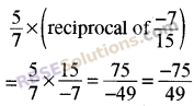 RBSE Solutions for Class 8 Maths Chapter 1 Rational Numbers Ex 1.1 34