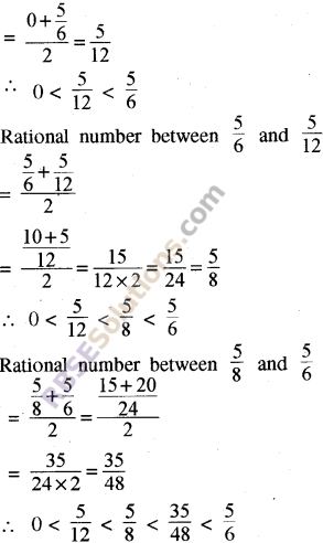 RBSE Solutions for Class 8 Maths Chapter 1 Rational Numbers Ex 1.1 37