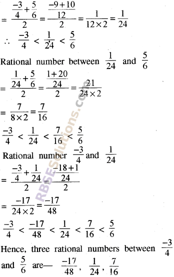 RBSE Solutions for Class 8 Maths Chapter 1 Rational Numbers Ex 1.1 39