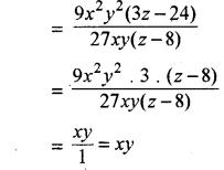 RBSE Solutions for Class 8 Maths Chapter 10 गुणनखण्ड Ex 10. 3 Q3a