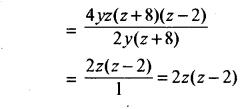 RBSE Solutions for Class 8 Maths Chapter 10 गुणनखण्ड Ex 10. 3 Q4d