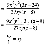 RBSE Solutions for Class 8 Maths Chapter 10 Factorization Ex 10.3 img-11