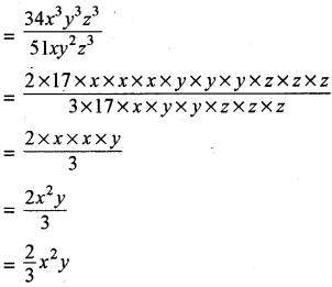 RBSE Solutions for Class 8 Maths Chapter 10 Factorization Ex 10.3 img-4