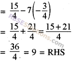 RBSE Solutions for Class 8 Maths Chapter 11 Linear Equations with One Variable Additional Questions img-2