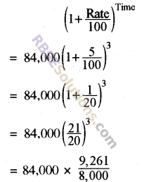 RBSE Solutions for Class 8 Maths Chapter 13 Comparison of Quantities Additional Questions img-16