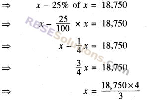 RBSE Solutions for Class 8 Maths Chapter 13 Comparison of Quantities Additional Questions img-17