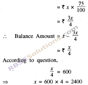 RBSE Solutions for Class 8 Maths Chapter 13 Comparison of Quantities Ex 13.1 img-3