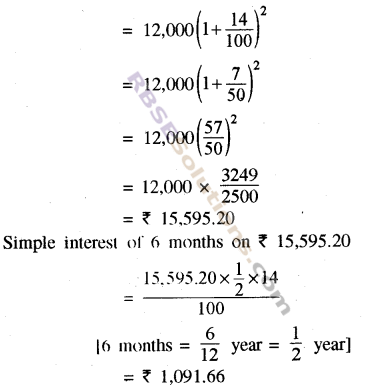 RBSE Solutions for Class 8 Maths Chapter 13 Comparison of Quantities Ex 13.3 img-7