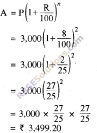 RBSE Solutions for Class 8 Maths Chapter 13 Comparison of QuantitiesIn Text Exercise img-1