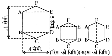 RBSE Solutions for Class 8 Maths Chapter 14 क्षेत्रफल Ex 14.1 Q2