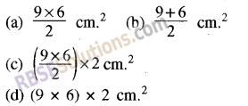 RBSE Solutions for Class 8 Maths Chapter 14 Area Additional Questions img-1