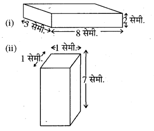 RBSE Solutions for Class 8 Maths Chapter 15 पृष्ठीय क्षेत्रफल एवं आयतन In Text Exercise Q87