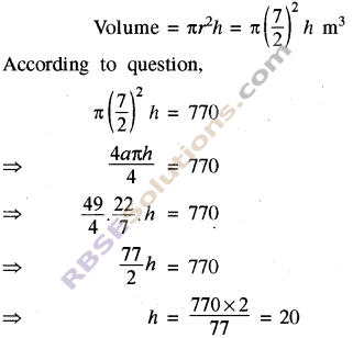 RBSE Solutions for Class 8 Maths Chapter 15 Surface Area and Volume Ex 15.2 img-7