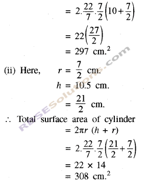 RBSE Solutions for Class 8 Maths Chapter 15 Surface Area and VolumeIn Text Exercise img-4