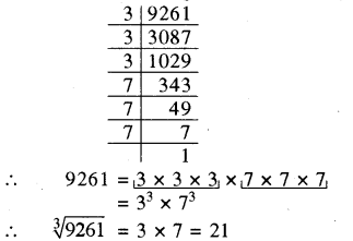 RBSE Solutions for Class 8 Maths Chapter 2 घन एवं घनमूल Additional Questions Q5q8