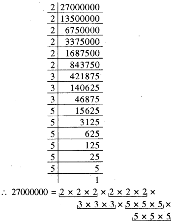 RBSE Solutions for Class 8 Maths Chapter 2 घन एवं घनमूल In Teaxt Exercise P28j