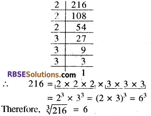 RBSE Solutions for Class 8 Maths Chapter 2 Cube and Cube Roots Ex 2.1 14