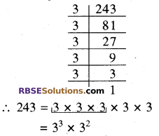 RBSE Solutions for Class 8 Maths Chapter 2 Cube and Cube Roots Ex 2.1 2