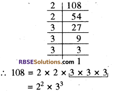 RBSE Solutions for Class 8 Maths Chapter 2 Cube and Cube Roots Ex 2.1 6