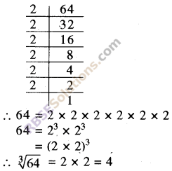 RBSE Solutions for Class 8 Maths Chapter 2 Cube and Cube Roots Ex 2.2 1