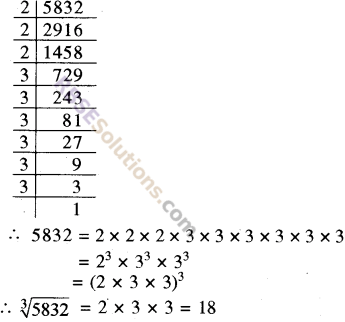 RBSE Solutions for Class 8 Maths Chapter 2 Cube and Cube Roots Ex 2.2 3