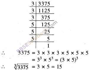 RBSE Solutions for Class 8 Maths Chapter 2 Cube and Cube Roots Ex 2.2 6
